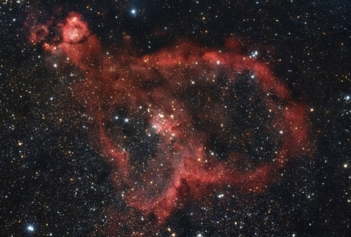 Heart Nebula IC 1805