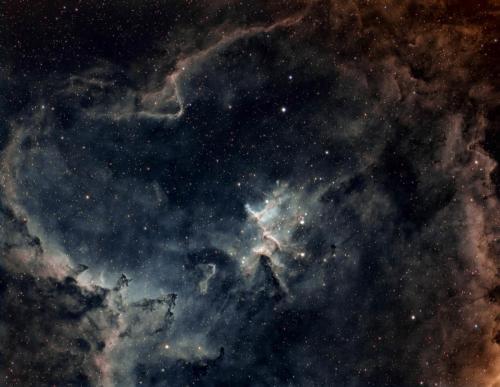 IC 1805 HST Qhy 695A