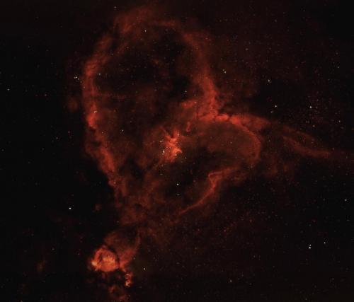 IC 1805 STC Qhy 168C