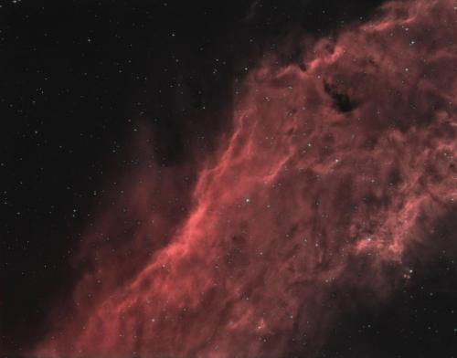 NGC 1499 Bicolor Qhy 695A