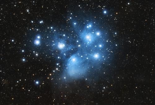 Plejady M45