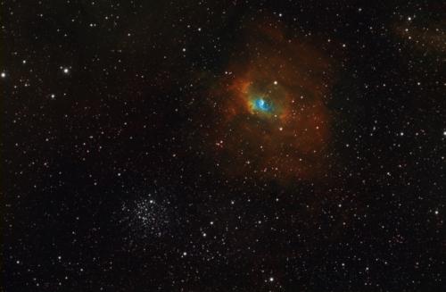 NGC7635 HST